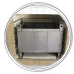 Cesta para horno tratatamientos térmicos