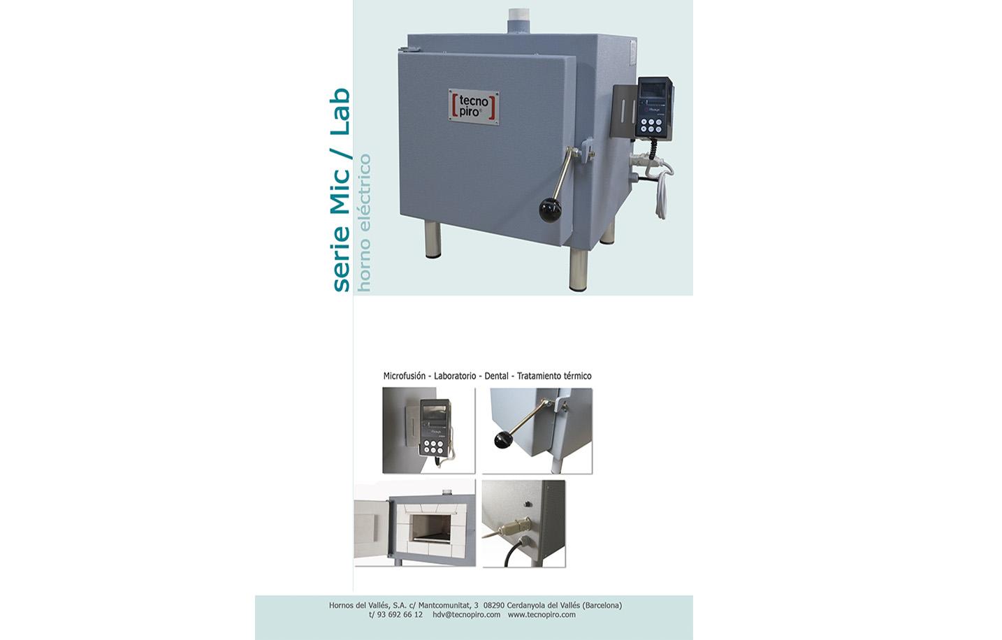 Catálogo hornos microfusión, joyería y laboratorio
